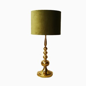Model 5431/1 Golden Table Lamp from Gebr. Leclaire & Schäfer, 1970s