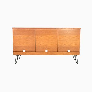 Teak Sideboard on Hairpin Legs from White and Newton, 1970s