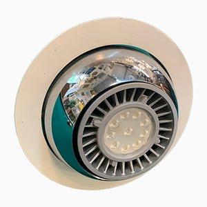 Eyeball Einbaulampe von Le Corbusier, 1970er