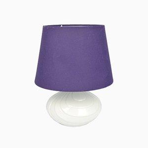 Lámpara de mesa alemana vintage, años 70