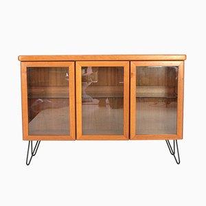 Teak & Glass Display Cabinet by Christian Linneberg, 1970s