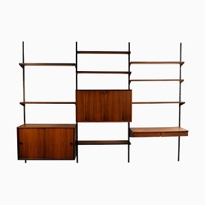 Vintage Rosewood Wall System by Kai Kristiansen for FM Møbler