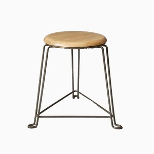 Vintage Industrial Stool by Jan Van Der Togt for Tomado, 1950s