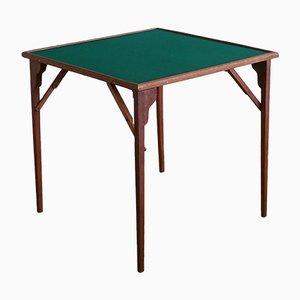 Antiker klappbarer französischer Spieltisch, 1900er