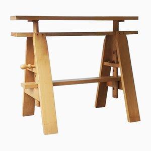 Leonardo Working Table by Achille Castiglioni for Zanotta, 1960s