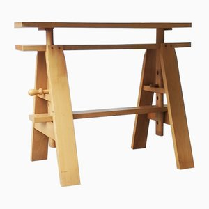 Tavolo da lavoro Leonardo di Achille Castiglioni per Zanotta, anni '60