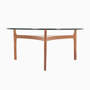 Tavolino da caffè vintage di Sven Ellekaer per Christian Linneberg, anni '60