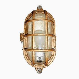 Vintage Wandlampe aus Gusseisen, 1950er