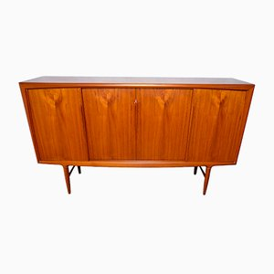 Danish Teak High Board by Axel Christensen for ACO, 1960s
