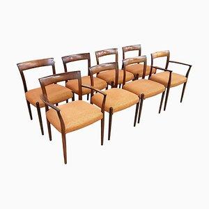 Danish Rosewood Chairs from Søren Willadsen Møbelfabrik, 1960s, Set of 8