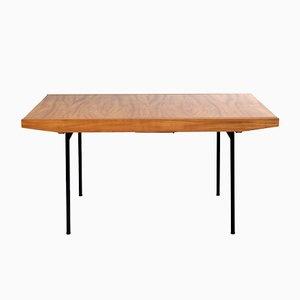 324 Tisch aus Kirschholz von Alain Richard für Meubles TV, 1950er