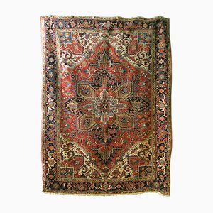 Middle Eastern Stylized Geometrical Rug, 1920s