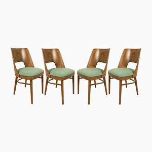 Lollipop Dining Chairs from Tatra, 1960s, Set of 4
