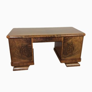 Vintage Art Deco Desk by Jindřich Halabala for UP Závody, 1930s
