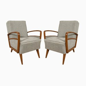 Mid-Century German Armchairs, 1970s, Set of 2