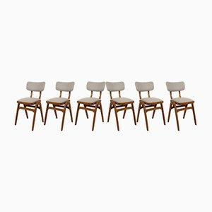 Chaises de Salle à Manger Mid-Century, 1960s, Set de 6
