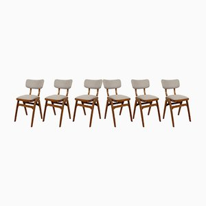 Mid-Century Esszimmerstühle, 1960er, 6er Set