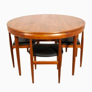 Teak Dining Set by Hans Olsen for Frem Røjle, 1960s
