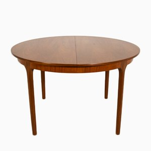 Table de Salle à Manger Ronde Extensible de McIntosh, 1960s