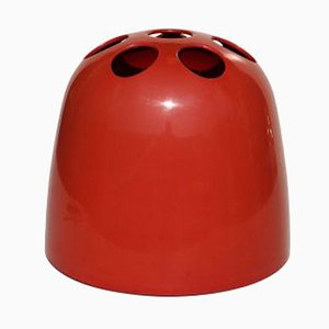 Red Dedalo Umbrella Stand by Emma Gismondi Schweinberger for Artemide, 1960s