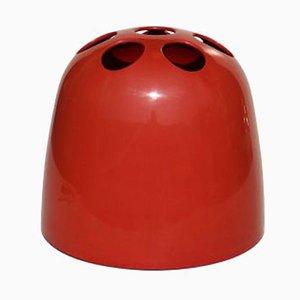 Roter Dedalo Schirmständer von Emma Gismondi Schweinberger für Artemide, 1960er