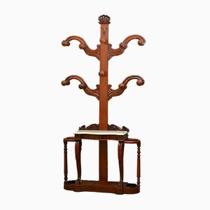 Early Victorian Mahogany Hall Tree