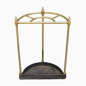 Antiker viktorianischer Schirmständer aus Messing