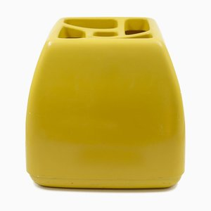 Yellow Quadro Umbrella Stand by Schönbuch, 1970s