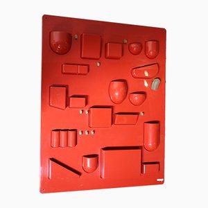 Rotes Uten Silo von Dorothee Becker für Vitra, 1960er