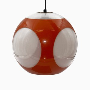 Orange Ball Lampe von Luigi Colani, 1970er