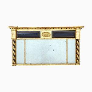 Espejo de repisa dorado, siglo XIX