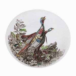Oval Porcelain Plate from Johnson Brothers, 1950s