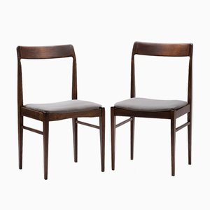 Model GFM 104 Chairs by Edmund Homa for Gościnno Furniture Factory, 1960s, Set of 2