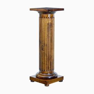 Late 19th Century Birch Column Pedestal