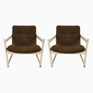 No. 458 Armchairs by Geoffrey Harcourt for Artifort, 1968, Set of 2