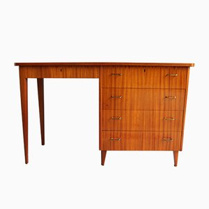 Scandinavian Modern Teak Desk with Drawers, 1950s