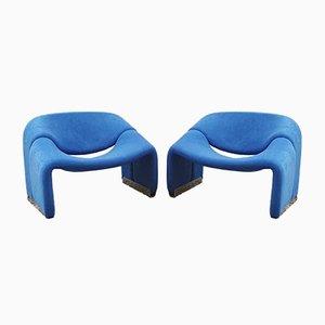 F598 Groovy Chairs von Pierre Paulin für Artifort, 1970er, 2er Set