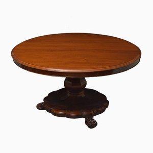 Tavolo da pranzo vittoriano antico in mogano
