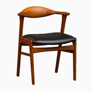 Model 49 Chair by Erik Kirkegaard for Høng Stolefabrik, 1956