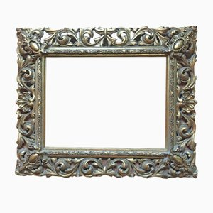 Antique Pierced and Gilded Frame, 1890s
