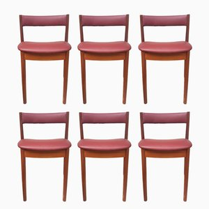 Mid-Century Teak Dining Chairs from McIntosh, 1970s, Set of 6