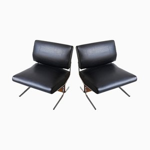 Caracas Easy Chairs by Pierre Guariche for Meurop, 1960s, Set of 2