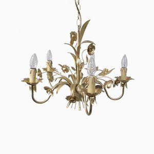 Mid-Century Floral Chandelier from Honsel, 1960s