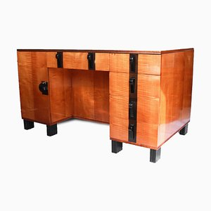 Art Deco Desk by Maurice Adams, 1930s