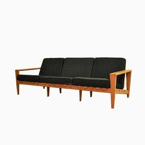 Canapé en Chêne Massif par Svante Skogh pour Seffle Möbelfabrik, 1950s