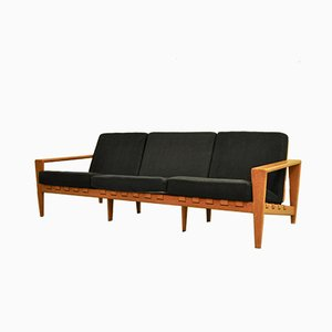 Solid Oak Sofa by Svante Skogh for Seffle Möbelfabrik, 1950s