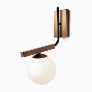 Lampada da parete sferica di Mambo Unlimited Ideas