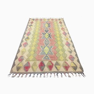 Vintage Turkish Kilim Rug, 1980s