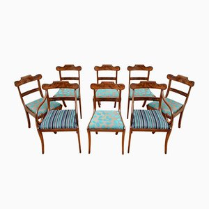 Antique William IV Dining Chairs, Set of 8
