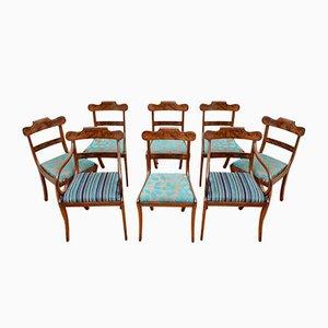 Chaises de Salle à Manger William IV Antiques, Set de 8